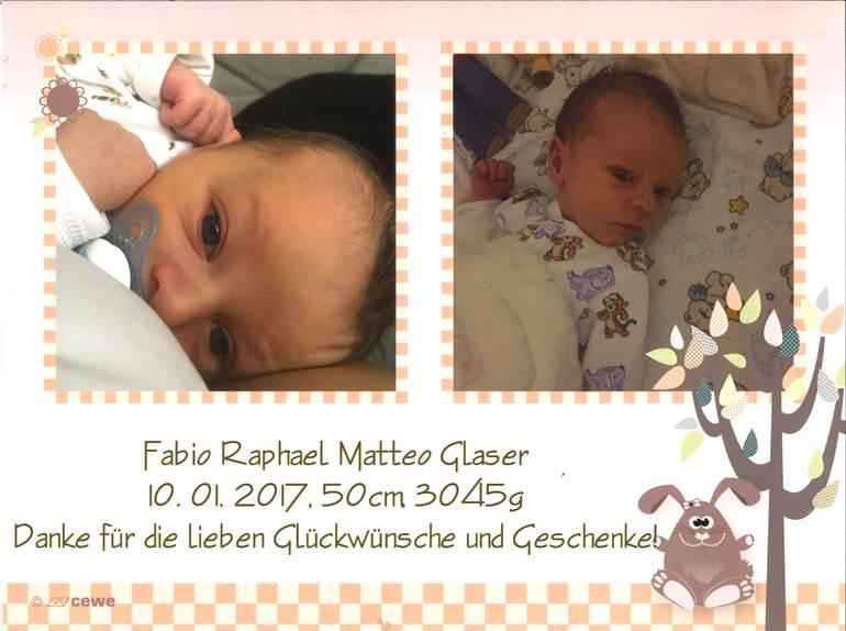 Glaser Fabio Raphael Matteo - 10.01.2017