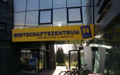 Hausräumung im Wirtschaftszentrum NÖ