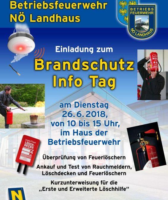 Brandschutz Info-Tag
